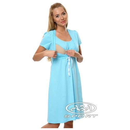 db13f0773aac3b Koszula ciążowa Radość Italian Fashion/ WYSYŁKA 24h/GWARANCJA 24m -  Niebieski