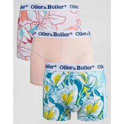 Oiler & Boiler Trunks 3 Pack Mariposa - Multi