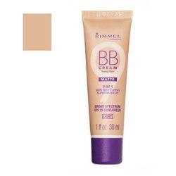 Rimmel London BB Cream 9in1 SPF15 30ml W Krem do twarzy BB Light