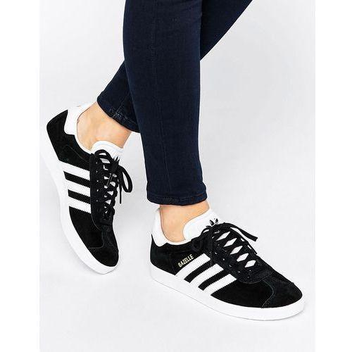 super promocje kody kuponów dostępność w Wielkiej Brytanii adidas Originals Black Suede Gazelle Trainers - Black ...