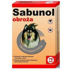 Sabunol obroża dla psa przeciw pchłom i kleszczom 75cm