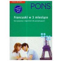 Pons francuski w 3 miesiące z płytą CD