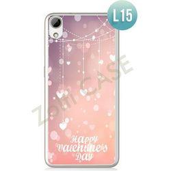 Obudowa Zolti Ultra Slim Case - HTC Desire 626 - Romantic- Wzór L15 - L15