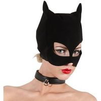 Bad Kitty Cat Mask Black Maska kota czarna