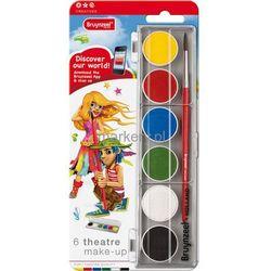 Bruynzeel Make Up Farby do malowania twarzy 6szt