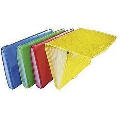 Teczka A4 z 6-przegródkami OMEGA żółta EX4315 Panta Plast 0410-0041-06