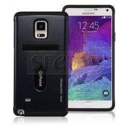 Etui GOOSPERY iPocket Premium do Galaxy S6 czarny - PP- S6-B