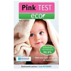 PINK TEST ECO 1szt Test ciążowy płytkowy
