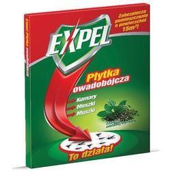 EXPEL Płytka owadobójcza Globol, muchy, meszki , zielona herbata 1szt/GL-68