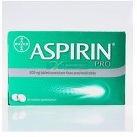 Aspirin BAYER PRO 500 mg 80 tabl.