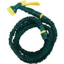 Wąż ogrodowy rozciągliwy z pistoletem zraszającym, 7.5 m