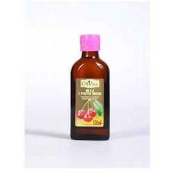 Olej z pestek wiśni tłoczony na zimno nieoczyszczony 100ml - Olvita