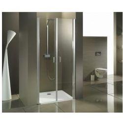 RIHO NAUTIC N111 Drzwi prysznicowe wahadłowe 90x200, szkło transparentne EasyClean GGB0804800
