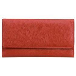 d126edf21d05c Damskie Portfele Zabezpieczające Zbliżeniowe Karty Kredytowe Czerwone -  Czerwony połysk
