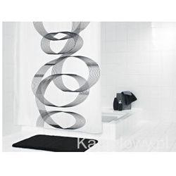 LOOP poliestrowa zasłona prysznicowa 180x200cm 42346