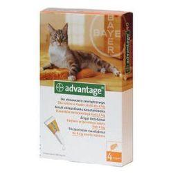 Bayer Advantage 40 dla kotów, roztwór do nakrapiania na pchły