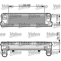 818261 VALEO INTERCOOLER BMW 1 F20/F21, 3 F30/F35Chłodnica powietrza doładowującego 17517005532 17517600532