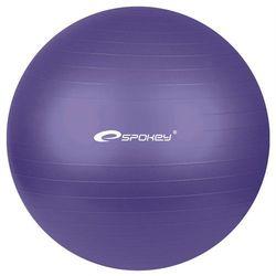 Piłka gimnastyczna FITBALL śr.65 cm + pompka Spokey (fioletowa)