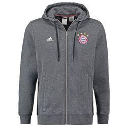 adidas Performance FC BAYERN MÜNCHEN Bluza rozpinana dark grey heather/black