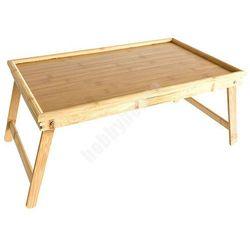 Bambusowy stolik pod laptopa 50 x 30 cm