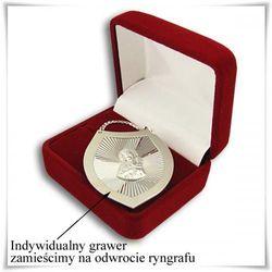 Srebrny ryngraf z Matką Boską (waga 8,2g) w pudełeczku z opcją graweru