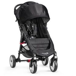 Baby Jogger Wózek spacerowy City Mini 4-kołowy black / black