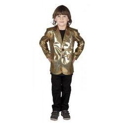Marynarka Disco Złota 7-9 lat, kostium/ przebranie dla dzieci, odgrywanie ról