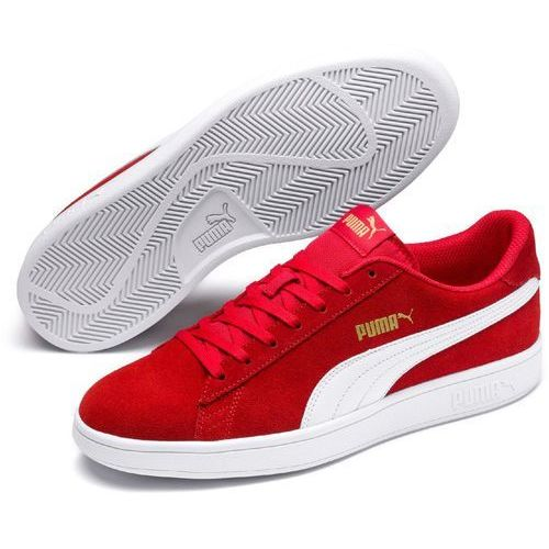 Puma buty męskie Smash V2 High Risk Red White P 43