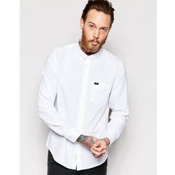 Lee Regular Fit Oxford Shirt in White - White
