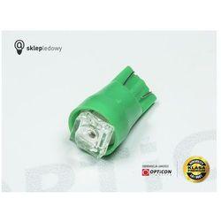 Żarówka Led W5W W3W T10 1x FLUX Zielony