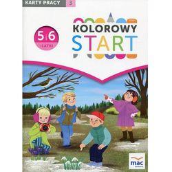 Kolorowy Start 5 i 6-latki Karty pracy Część 3