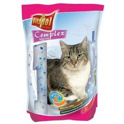 Żwirek dla kota VITAPOL 5l - różne zapachy Zapach:Kwiatowy