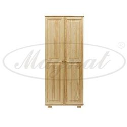 Szafa drewniana 2D nr2 wieszak/półki S90