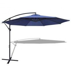 Parasol przeciwsłoneczny okrągły 3,5 m, niebieski+aluminiowy stelaż Zapisz się do naszego Newslettera i odbierz voucher 20 PLN na zakupy w VidaXL!