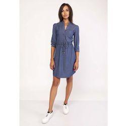 1fc51ba073 suknie sukienki pepe jeans cindy sukienka jeansowa 000 (od Koszulowa ...