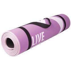 Mata do ćwiczeń fitness FLEXMAT III Spokey (różwa)