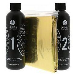 Shunga Oriental Massage Gel Exotic Fruit Zestaw do masażu o zapachu egzotycznych owoców 500ml