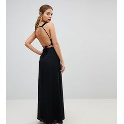 445f5e5cd71 ... red carpet fully embellished leaf placement maxi dress white) we  wszystkich kategoriach. ASOS PETITE Embellished Waist Strap Back Maxi Dress  - Black