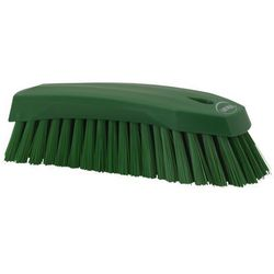 Szczotka ręczna do szorowania, twarda, zielona, 200 mm, VIKAN 38902