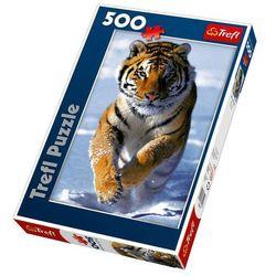 Puzzle Śnieżny tygrys 500