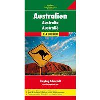 Australia mapa 1:4 000 000 Freytag & Berndt (opr. twarda)