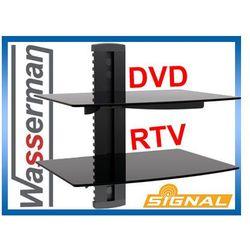 Półka ścienna dvd/rtv Signal podwójna