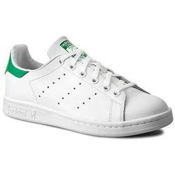 Buty adidas - Stan Smith J M20605 Ftwwht/Ftwwht/Green