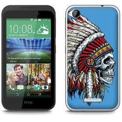 Fantastic Case - HTC Desire 320 - etui - apache