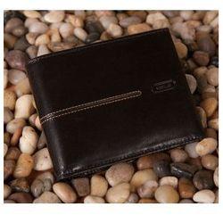 Męski portfel skórzany ze skóry w kolorze czarnym z kolekcji LONDON