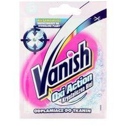 Odplamiacz VANISH Oxi Action Krystaliczna Biel odplamiacz do tkanin 30 g