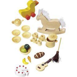 Goki, Akcesoria do domku dla lalek, 23 elementy Darmowa dostawa do sklepów SMYK