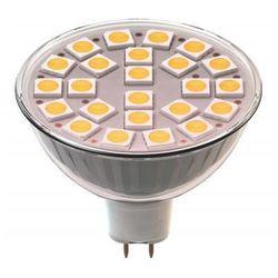 Żarówka LED EMOS Z72430 24LED SMD 5050 MR16 / Zimna