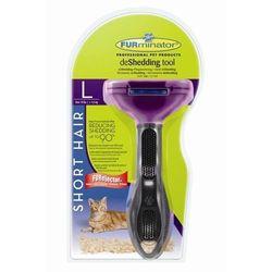 Furminator dla kotów krótkowłosych duży L