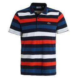 Lacoste Sport Koszulka polo navy blue/raffia matting/corrida white
